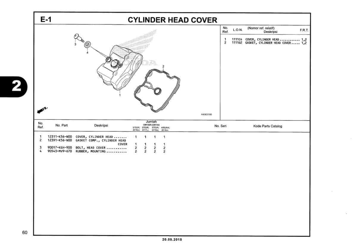 E-1-Cylinder-Head-Cover-Katalog-New-CBR-150R-K45N