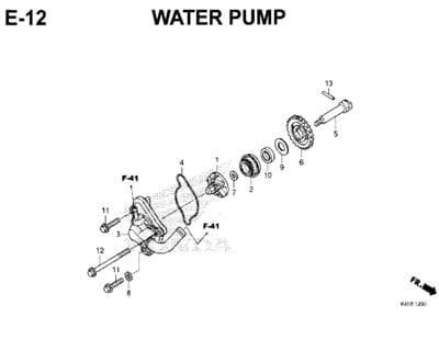E-12-Water-Pump-New-CBR-150R-K45N