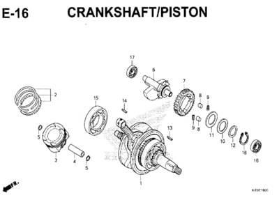 E-16-Crankshaft-Piston-New-CBR-150R-K45N