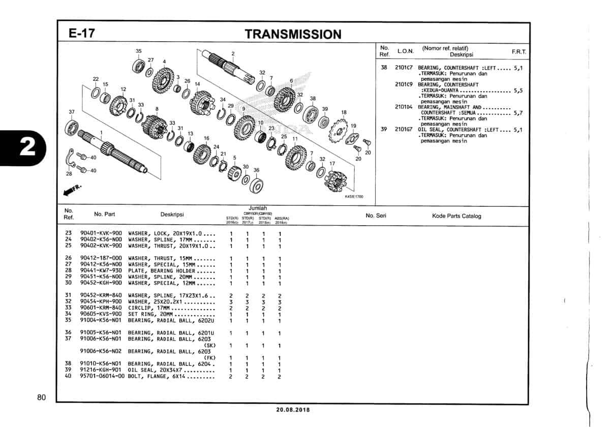 E-17-Transmission-Katalog-New-CBR-150R-K45N
