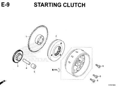 E-9-Starting-Clutch-New-CBR-150R-K45N