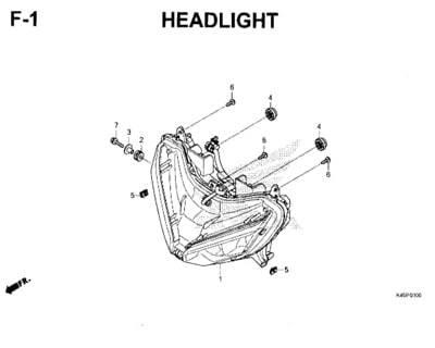 F-1-Headlight-New-CBR-150R-K45N