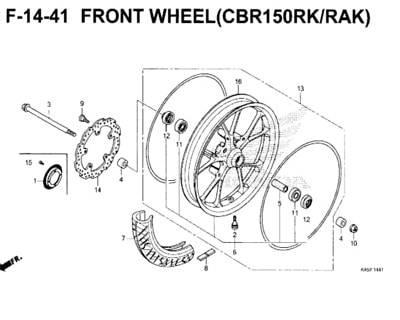 F-14-41-Front-Wheel-(CBR150RK-RAK)-New-CBR-150R-K45N