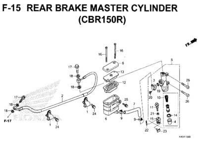 F-15-Rear-Brake-Master-Cylinder-(CBR150R)-New-CBR-150R-K45N