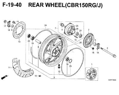 F-19-40-Rear-Wheel-(CBR150RG-J)-New-CBR-150R-K45N