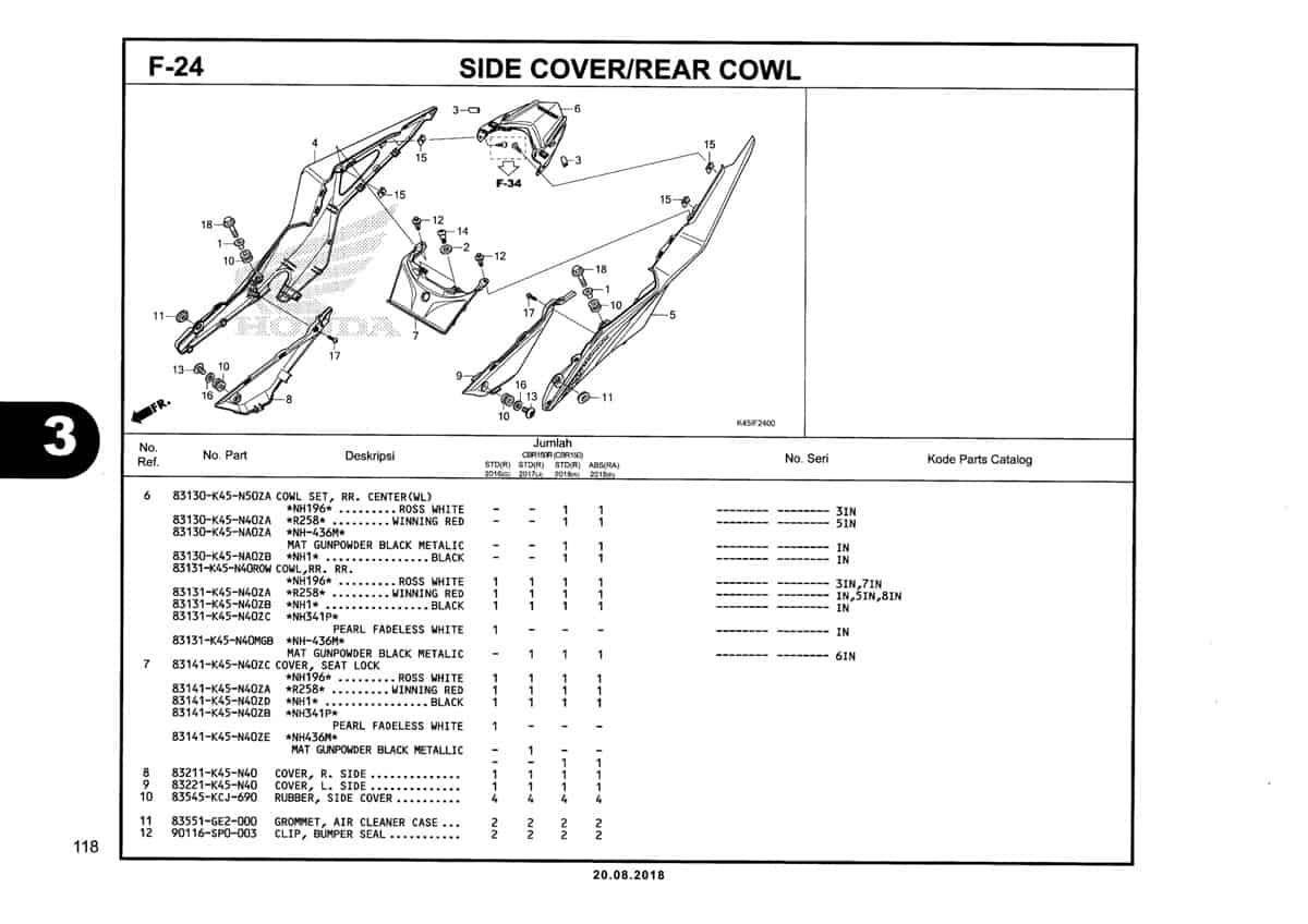 F-24-Side-Cover-Rear-Cowl-Katalog-New-CBR-150R-K45N