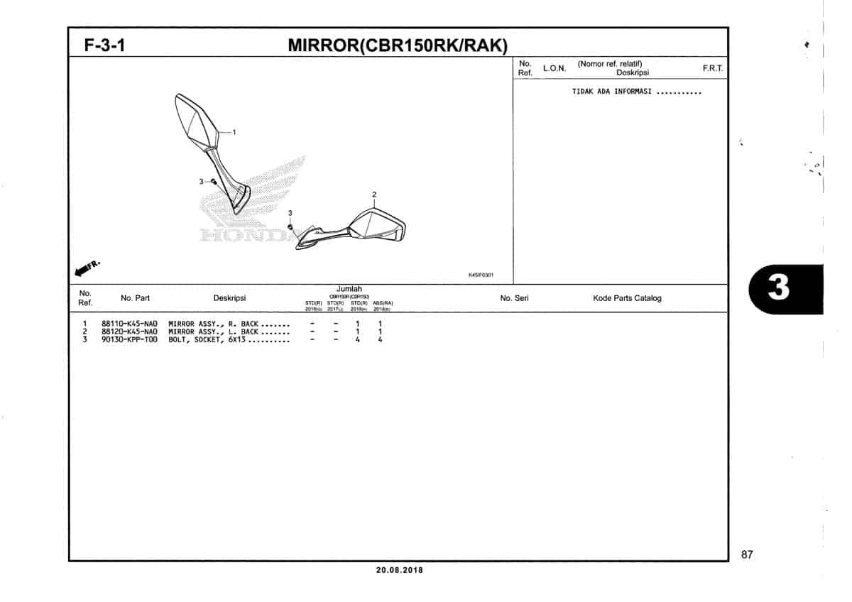 F-3-1-Mirror-(CBR150RK-RAK)-Katalog-New-CBR-150R-K45N