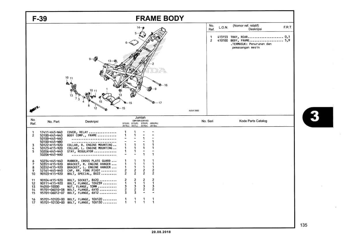 F-39-Frame-Body-Katalog-New-CBR-150R-K45N