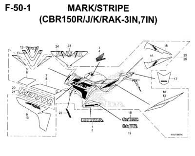 F-50-1-Mark-Stripe-(CBR150R-J-K-RAK-3IN,7IN)-New-CBR-150R-K45N