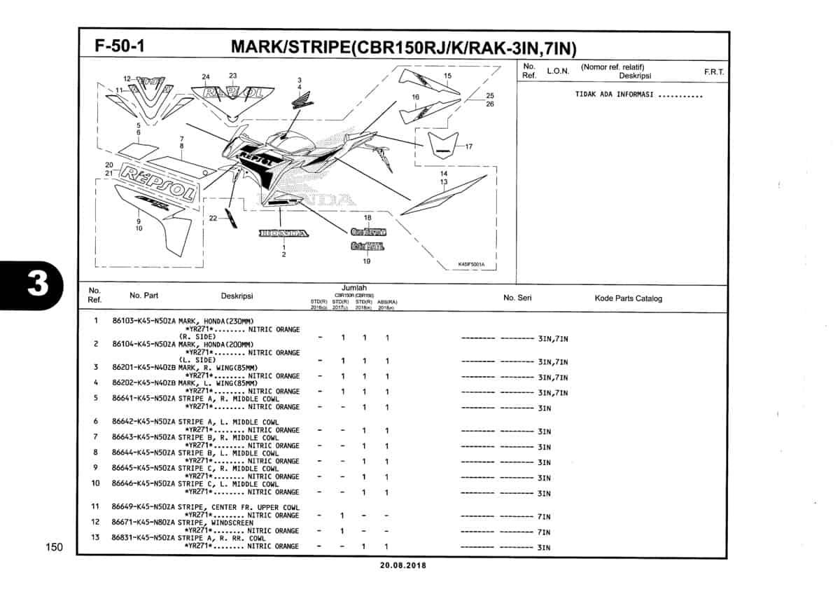 F-50-1-Mark-Stripe-(CBR150R-J-K-RAK-3IN,7IN)-Katalog-New-CBR-150R-K45N