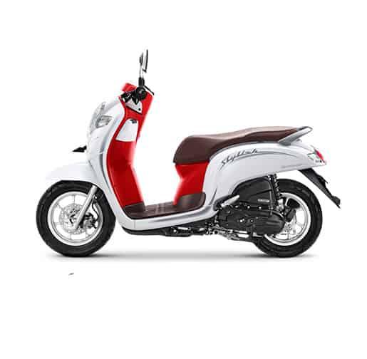 Honda-Scoopy-eSP-Stylish-White-Red