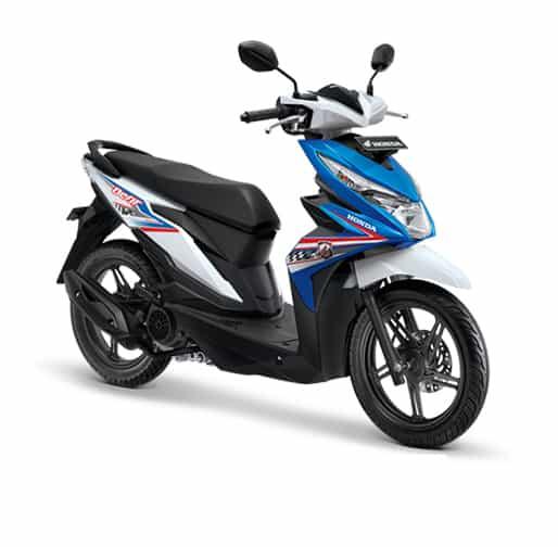 Honda BeAT eSP CBS Techno Blue White