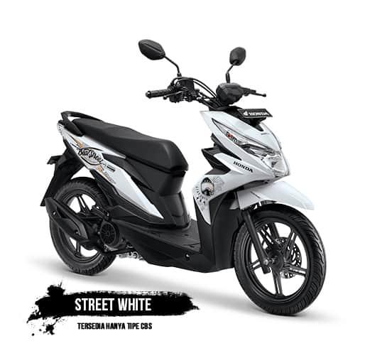Honda BeAT Street eSP White