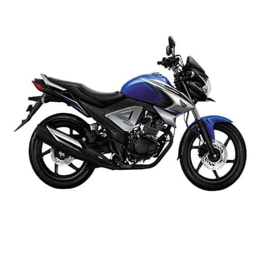 Honda New Mega Pro FI Brace Blue