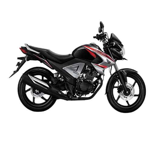 Honda New Mega Pro FI Brave Black