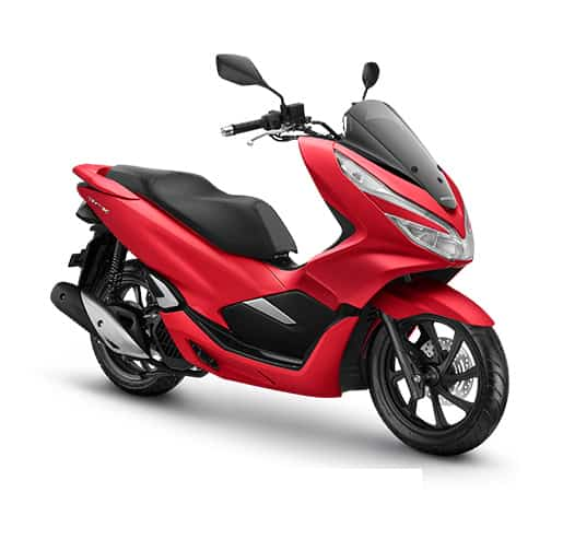 Honda PCX 150 ABS Majestic Matte Red