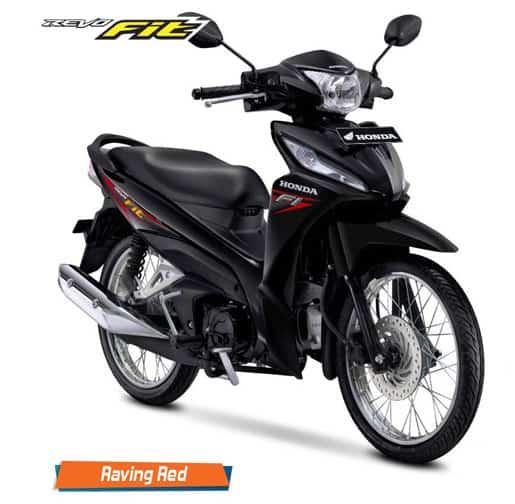 Honda Revo Fit Raving Red
