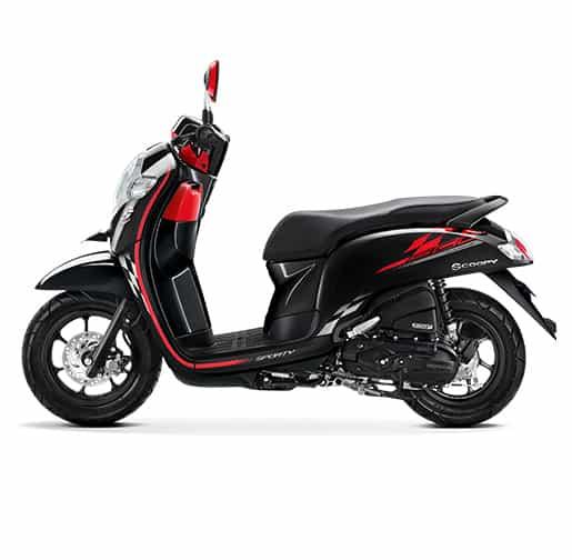 Honda Scoopy eSP Sporty Black