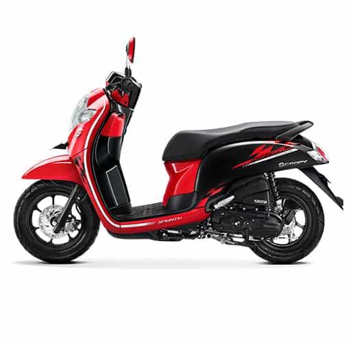 Honda Scoopy eSP Sporty Red