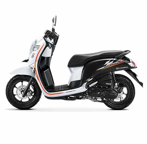 Honda Scoopy eSP Sporty White