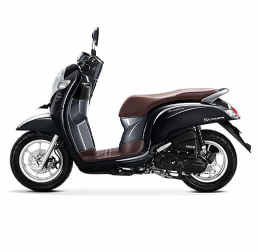 Honda Scoopy eSP Stylish Black