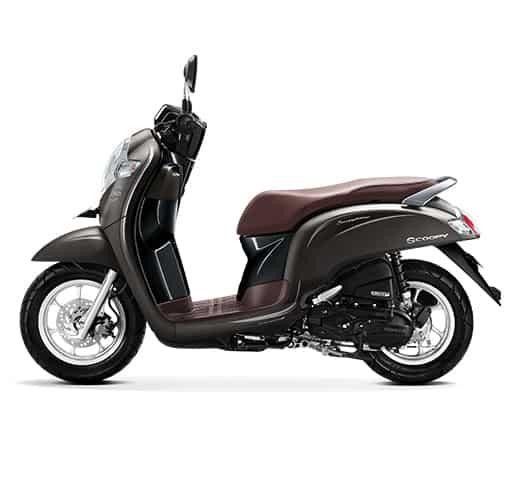 Honda Scoopy eSP Stylish Matte Brown