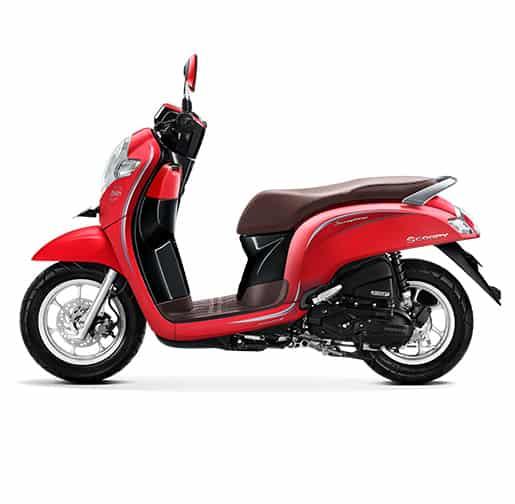 Honda Scoopy eSP Stylish Matte Red