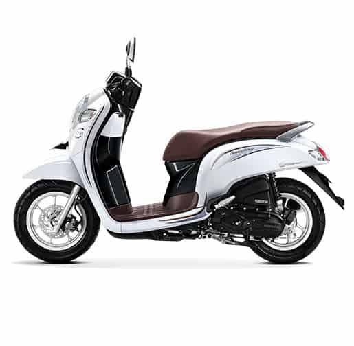 Honda Scoopy eSP Stylish White
