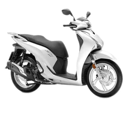 Honda SH150i Pearl Jasmine White