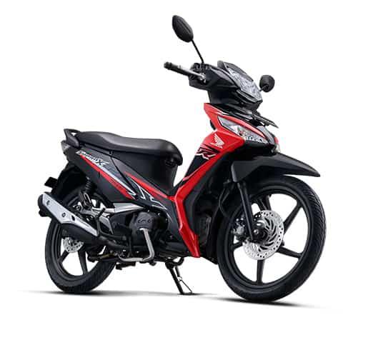 Honda Supra X 125 FI CW Energetic Red