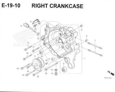 E-19-10-Right-Crankcase-Honda-BeAT-Street-eSP