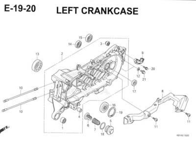 E-19-20-Left-Crankcase-Honda-BeAT-Street-eSP