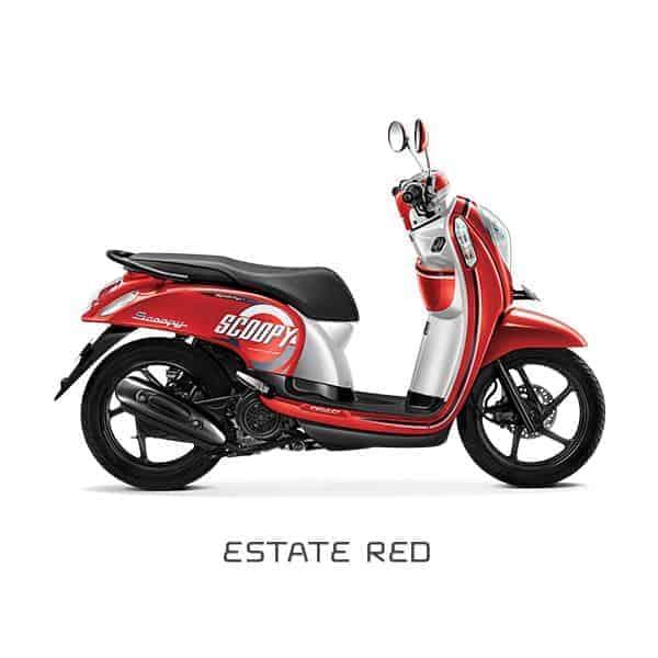 Honda-Scoopy-eSP-Estate-Red