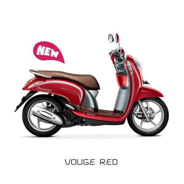 Honda-Scoopy-eSP-Vouge-Red