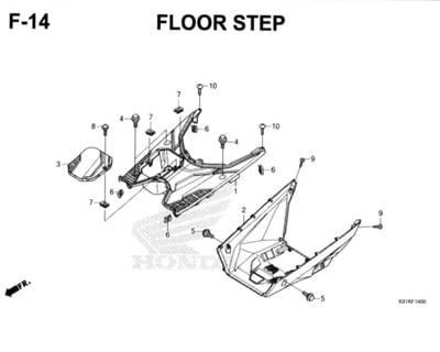 F-14-Floor-Step-Honda-BeAT-Street-eSP