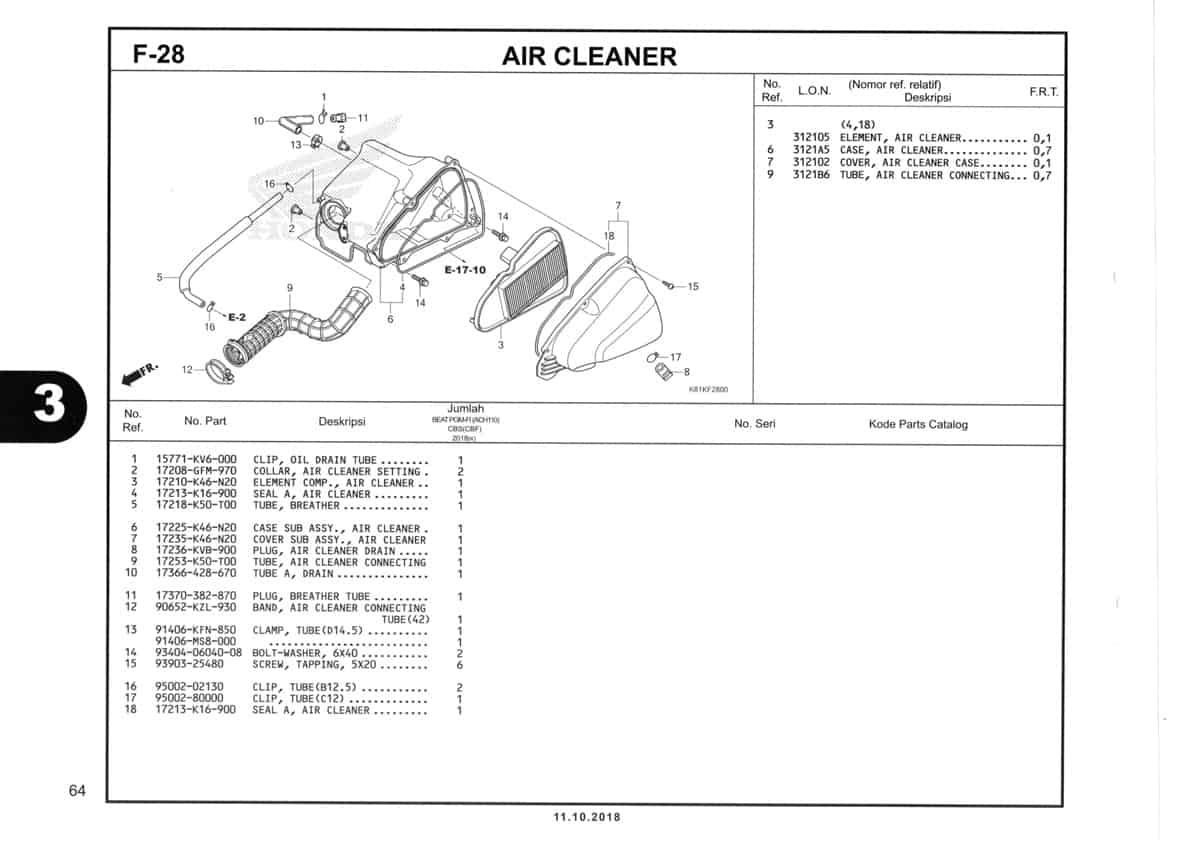 F-28-Air-Cleaner-Katalog-Honda-BeAT-Street-eSP