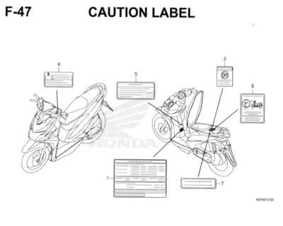 F-47-Caution-Label-Honda-BeAT-Street-eSP
