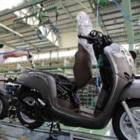 Perakitan New Honda Scoopy