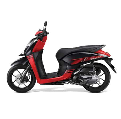 Honda-Genio-CBS-ISS-Trendy-Black-Red