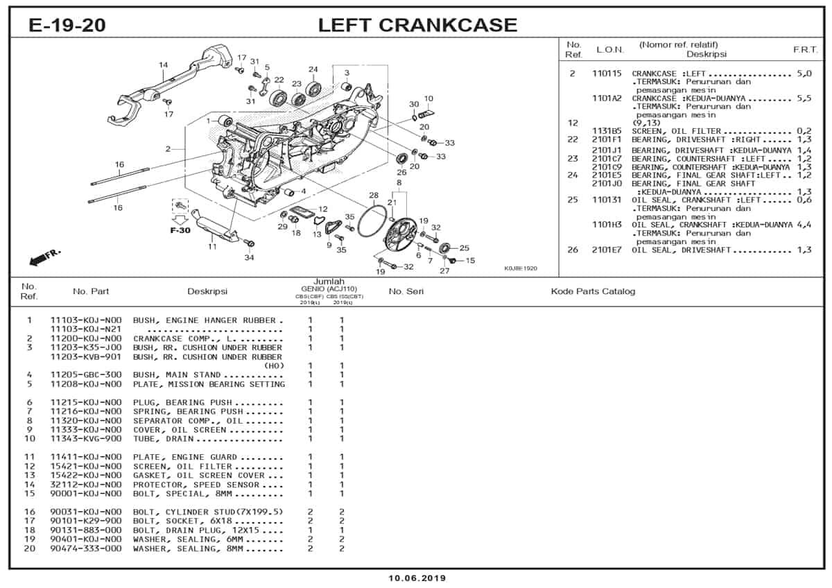 E-19-20-Left-Crankcase