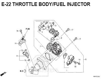 E-22-Throttle-Body-Fuel-Injector