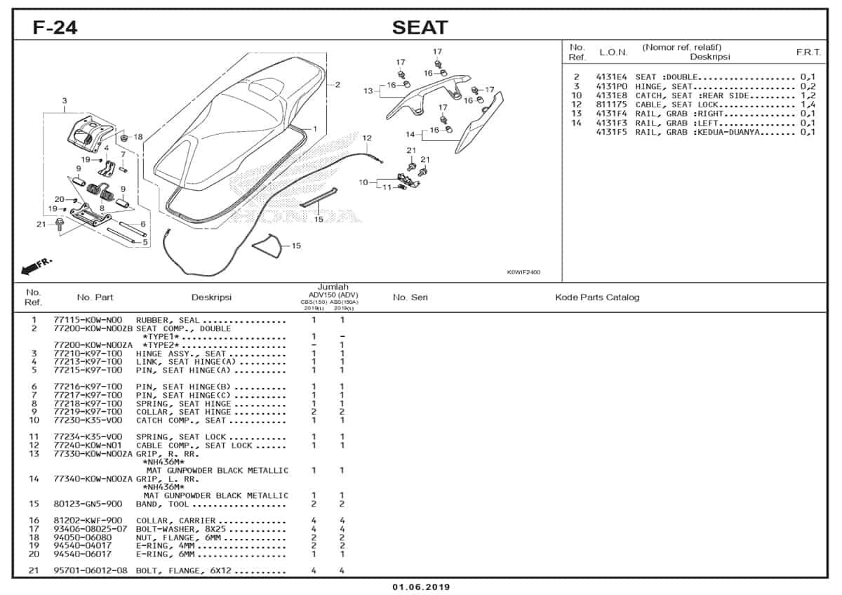 F-24-Seat