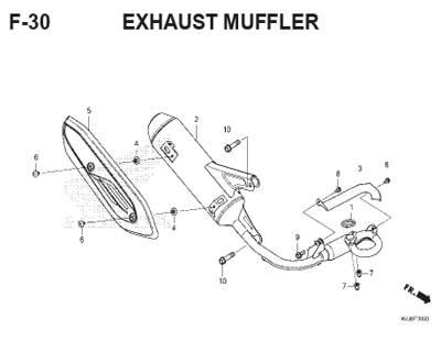 F-30-Exhaust-Muffler
