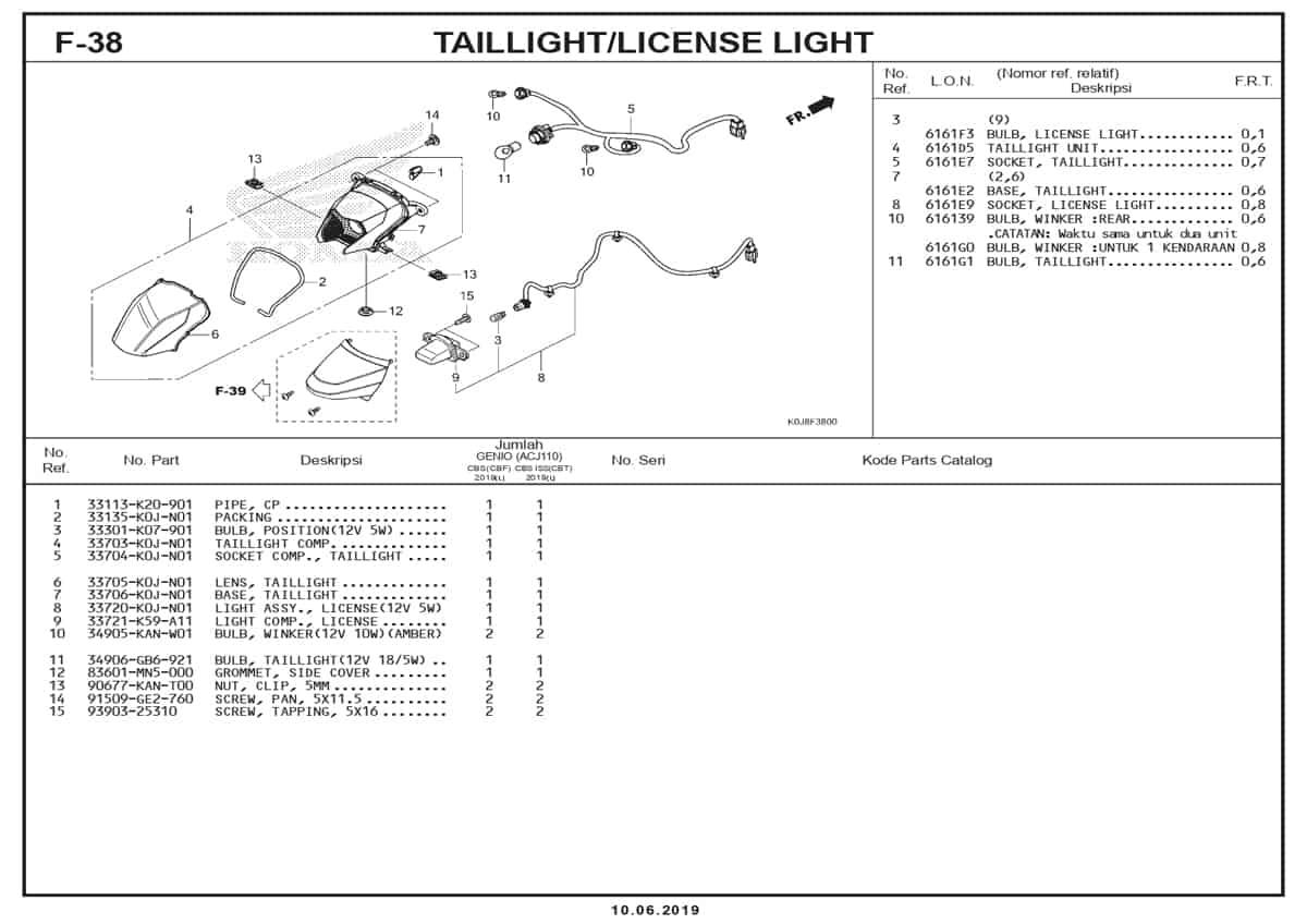 F-38-Taillight-License-Light