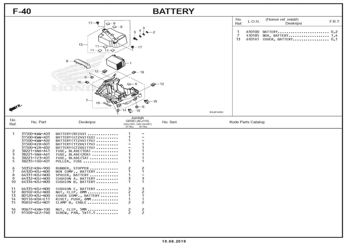 F-40-Battery
