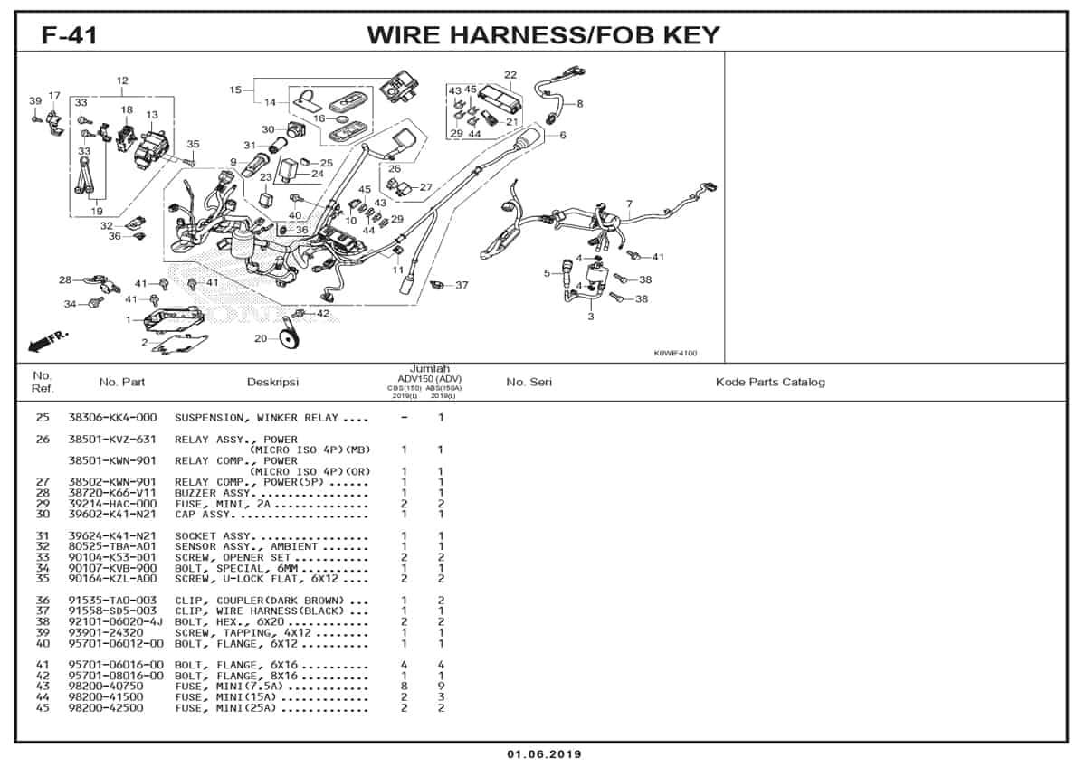 F-41-Wire-Harness-Fob-Key-2
