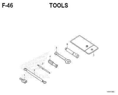F46 – Tools – Katalog Honda ADV 150