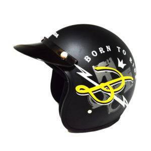 Honda-Btr-Black-Helmet-(M)-87100HFBTRBLM