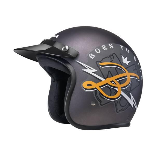 Honda-Btr-Grey-Helmet-(L)-87100HFBTRGRL