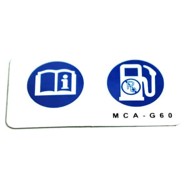 Label-Fuel-87586MCAG60